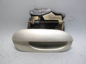 95-98 BMW E38 7-Series Right Passenger Exterior Outside Door Handle Beige OEM - 20707