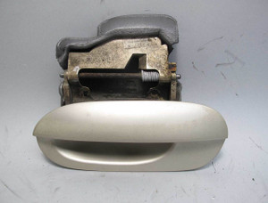 BMW E38 7-Series Early Left Rear Outside Exterior Door Handle Beige 1995-1998 OE - 20708