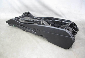 BMW F10 5-Series Sedan Factory Front Center Console Shell Bare Black 2011-2016 - 20710