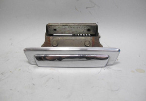 1975-1981 BMW E12 5-Series Left Front Drivers Exterior Outer Door Handle Chrome - 20743