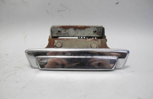 1975-1981 BMW E12 5-Series Left Rear Drivers Exterior Outside Door Handle Chrome - 20744