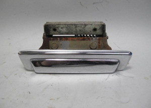 1975-1981 BMW E12 5-Series Right Front Passenger Exterior Door Handle Chrome OEM - 20772