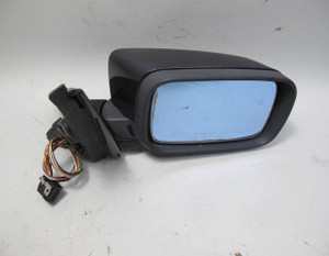 1997-2003 BMW E39 5-Series Right Outside Side Mirror Orient Blue High Gloss OEM - 20786