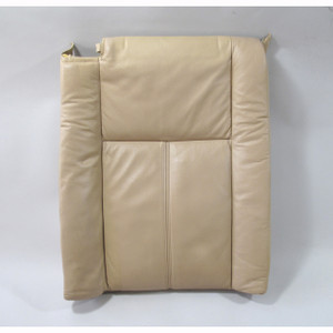 1996-2001 BMW E38 7-Series Left Rear Seat Backrest Pad Beige Electric Heated - 20814