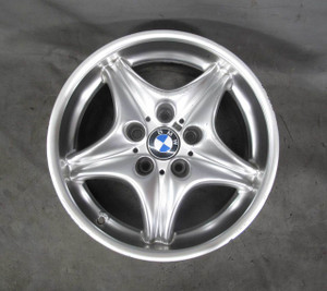 """BMW Z3 M ///M Roadster Coupe Front 17"""" Factory Style 40 Alloy Wheel 5-Spoke OEM - 20822"""