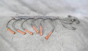 BMW E12 5-Series E23 E24 M30 6-Cylinder Spark Plug Wire Set w Tube 1975-1981 - 20830