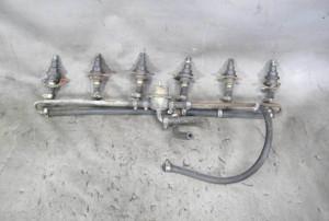 1975-1978 BMW M30 6-Cyl 3.0L M30B30 Fuel Delivery Rail w Injectors 3.0Si E12 E24 - 20850