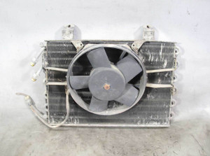 1975-1978 BMW E12 530i Air Conditioning AC Condensor w Electric Aux Fan OEM - 20851