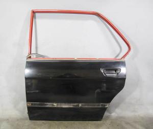 1975-1981 BMW E12 5-Series Left Rear Drivers Exterior Door Shell Panel Black OEM - 20855