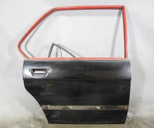 1975-1981 BMW E12 5-Series Right Rear Passeng Exterior Door Shell Panel Black OE - 20857