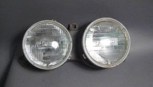 BMW E30 3-Series Right Passenger Sealed Beam Headlight 1984-1992 OEM USED - 1822