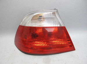 2000-2003 BMW E46 3-Series Convertible Left Rear Drivers Tail Light White Lens - 16168