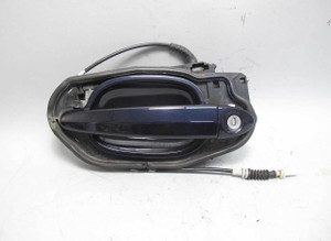 BMW E63 6-Series Left Driver Exterior Outside Door Handle Comfort Monaco Blue - 20920