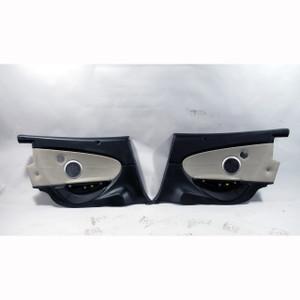 BMW E64 M6 ///M Convertible Rear Interior Trim Panel Pair Sepang Bronze Leather - 20936