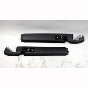 BMW 1999-02 Z3 COUPE Rear Trunk Luggage Compartment Railing Trim Pair Black OEM - 20940
