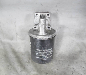 1969-1989 BMW M30 6-Cylinder Oil Filter Head Housing Case Mount E3 E12 E24 OEM - 20944