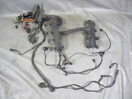 1996 1997 bmw e38 740i m62b44 v8 engine wiring harness complete used used engine wiring harness for 994 volvo 1996 1997 bmw e38 740i m62b44 v8 engine wiring harness complete used oem