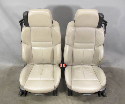 BMW E64 M6 Convertible Factory Front Sports Seat Pair Sepang Bronze Leather OEM - 20898
