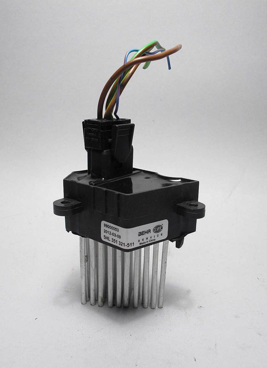 Bmw E36 3 Series Final Stage Unit Blower Motor Regulator Resistor The And Wiring To Components 1992 1999 Behr