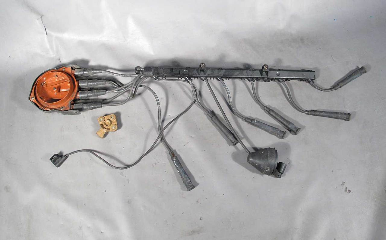 Bmw E30 3 Series 88 Late Model Distributor Cap And Rotor W Ignition 1991 Instrut Cluster Wiring