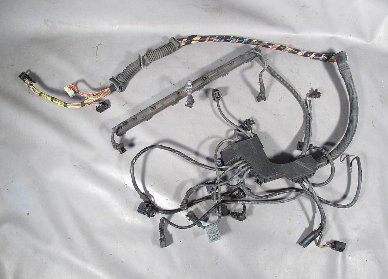 Bmw Z3 Roadster Coupe 25i 30i Engine Wiring Harness Manual 2001