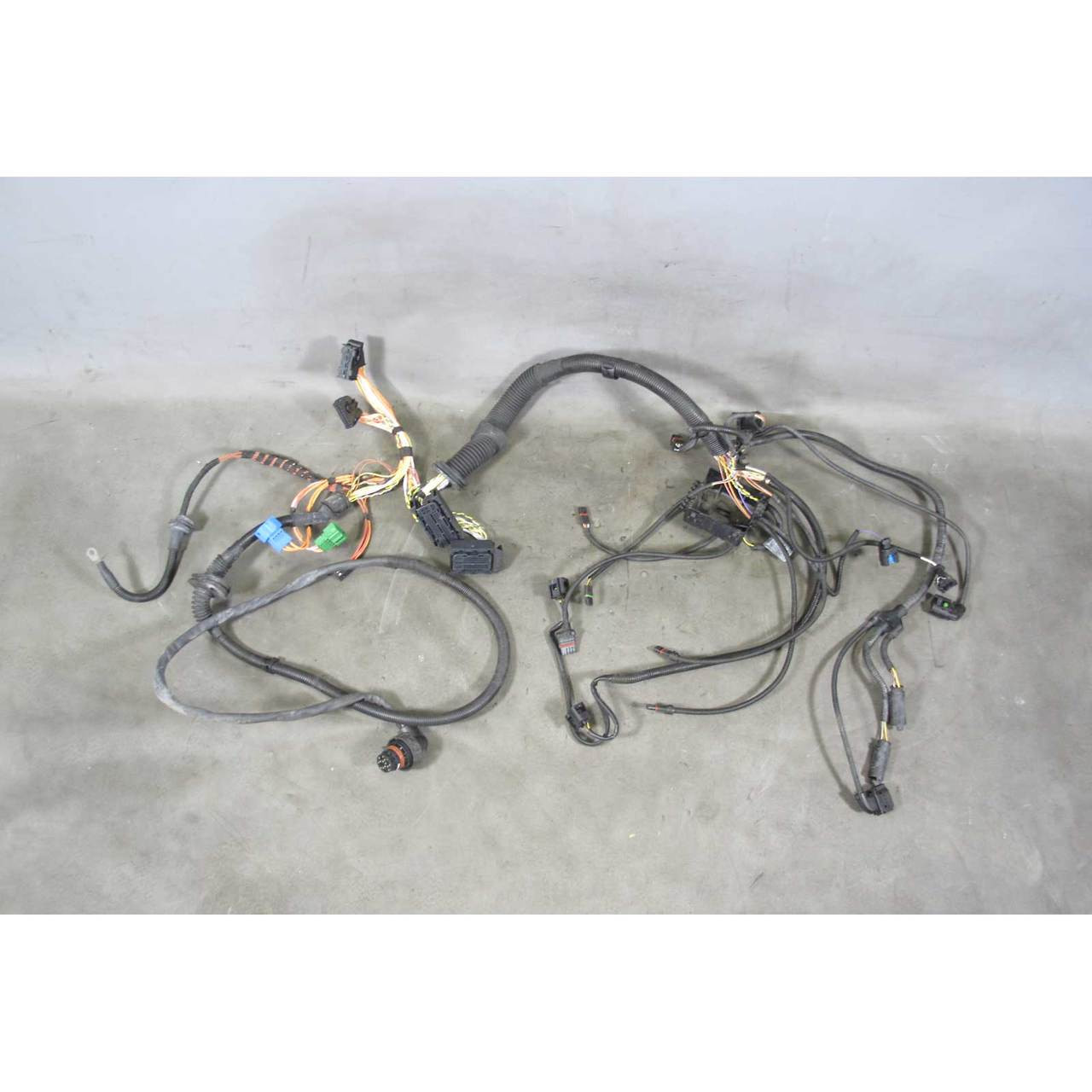 Bmw E83 X3 Sav N52 Late Model Engine Wiring Harness For Auto Trans Silver Wire