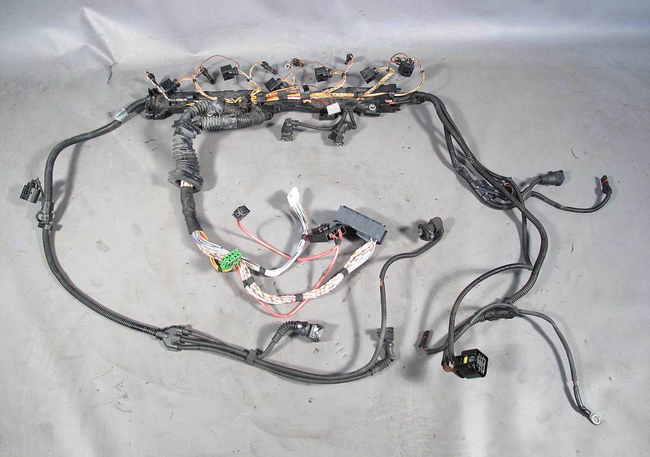 Bmw E60 N54 Turbo 535i 535xi Fuel Injector Wiring Harness Complete Wire