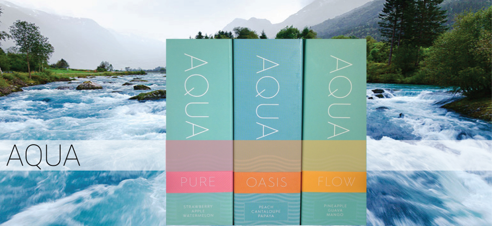 Aqua Pure, Flow, Oasis by Marina Vape