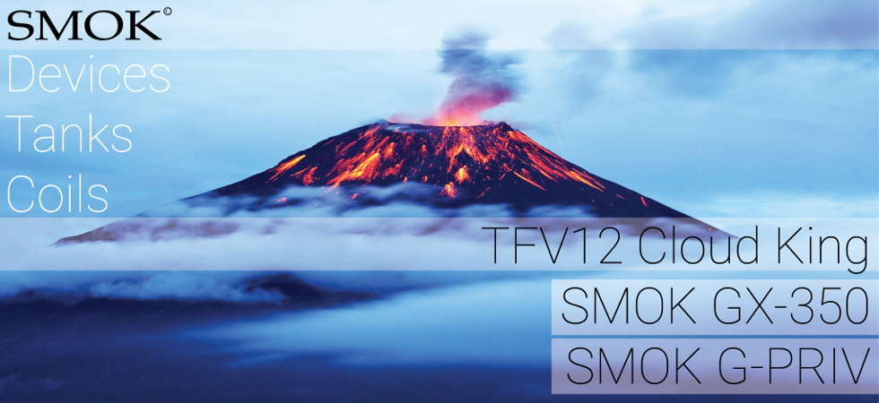 Smok tanks, coils, mods, vape parts and accessories by Smoktech