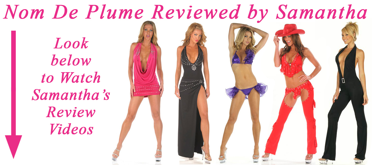 NOM DE PLUME REVIEWED BY SAMANTHA
