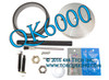 Rear Crankshaft Seal and Installer Tool Kit for Cummins B Series Diesel Engines including  1989-current 5.9L and 6.7L Dodge Ram Cummins Diesels, plus most industrial 4 and 6 cyl engines.