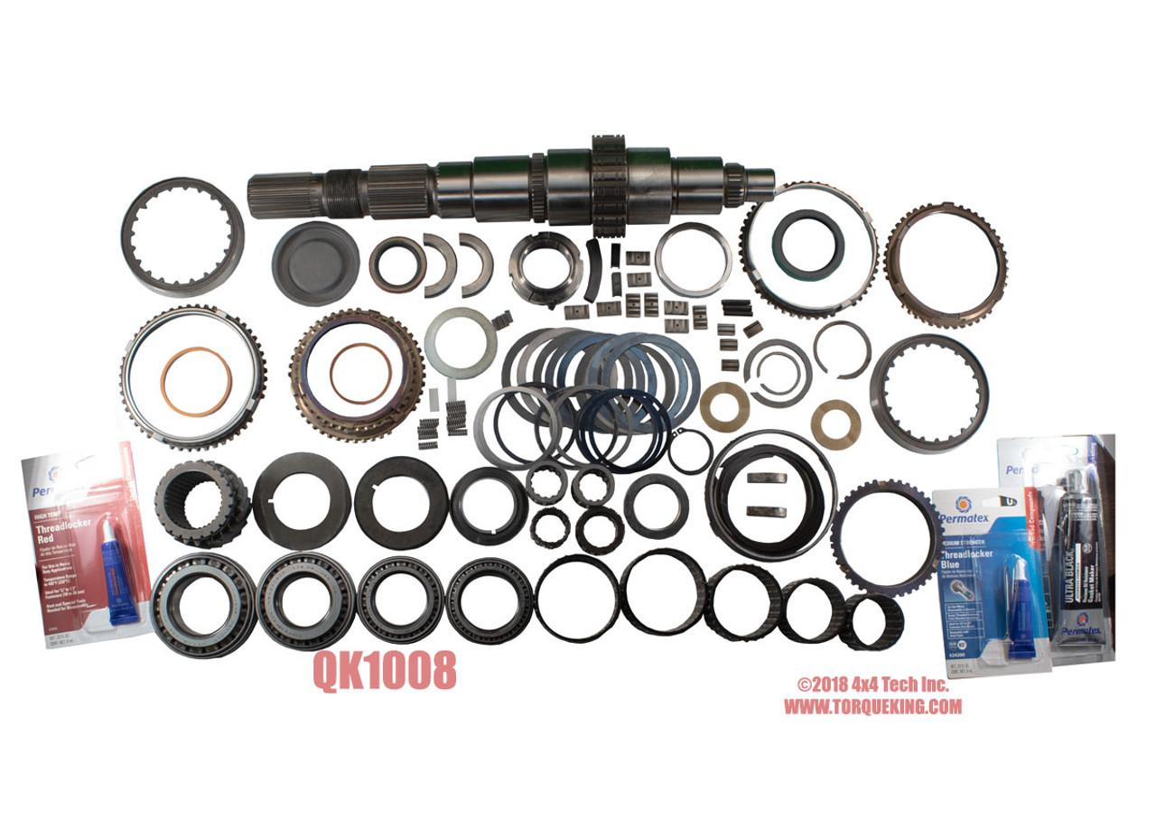 QK1008 1994-2004 4x4 Master Overhaul Parts Kit