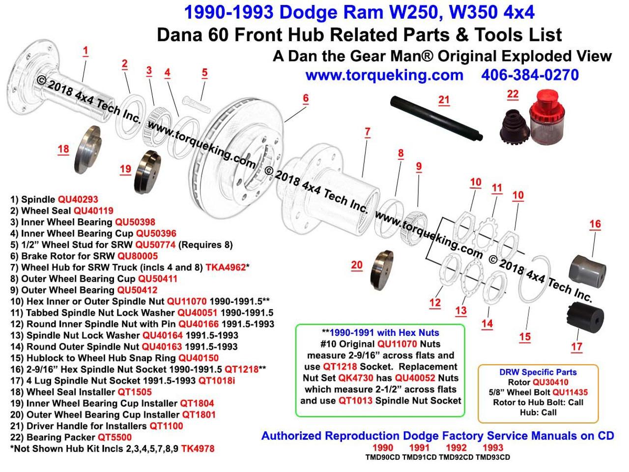 QU40150 Dana 50, Dana 60 Hub to Wheel Hub Retaining Ring