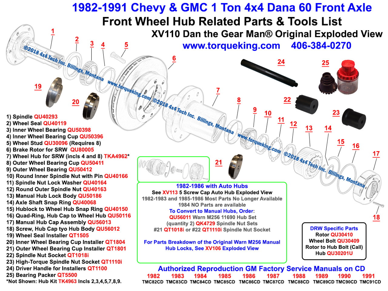 Qu40150 Dana 50 60 Hub Body To Wheel Retaining Ring. Dana 60 19821991 Chevygmc 1 Ton 4x4 Front Hub Exploded View. Ford. Ford 1 Ton Dana 80 Diagram At Scoala.co
