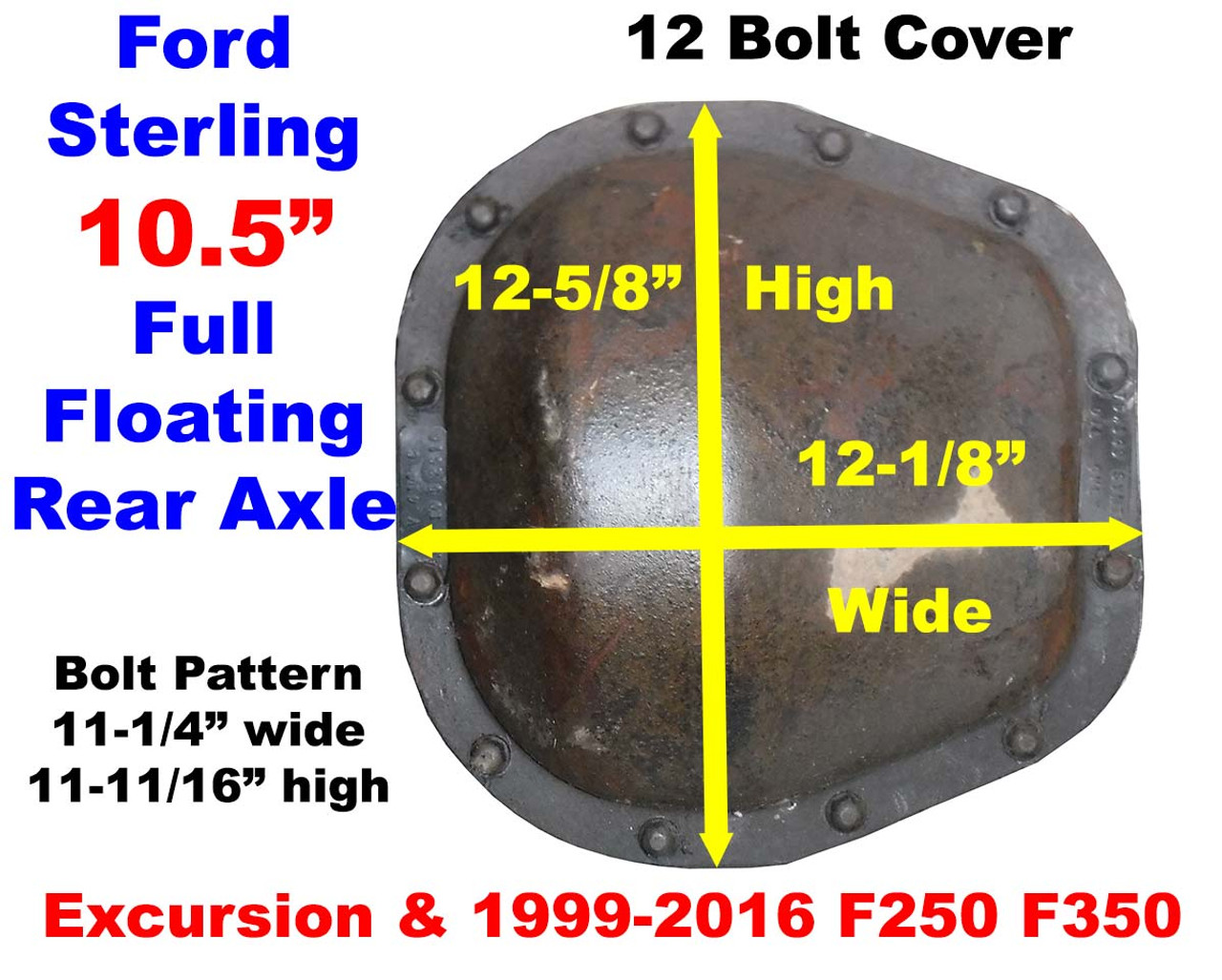 Ford Sterling Axle Id Cover on Jeep Manual Transmission Identification