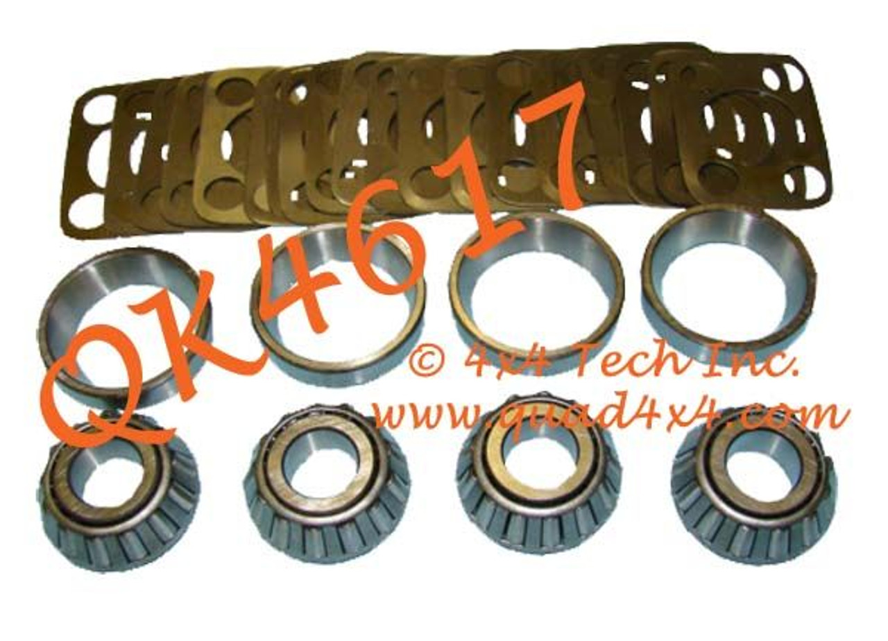 knuckle bearing shim kit for dana spicer model 25 27 30 44 axles