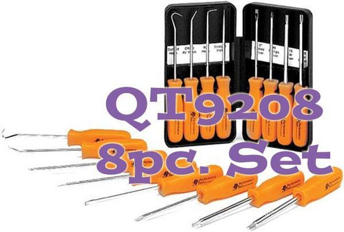QT9202 8 Piece Specialty Pick and Driver Set