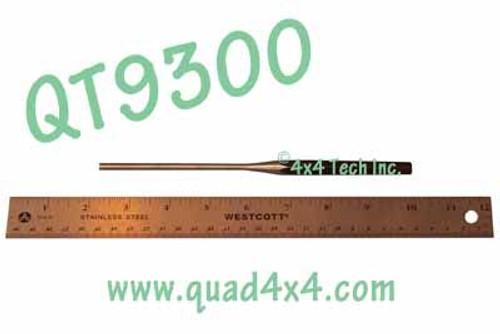 """QT9300 3/16"""" x  8"""" Long Reach Straight Shank Pin Punch"""