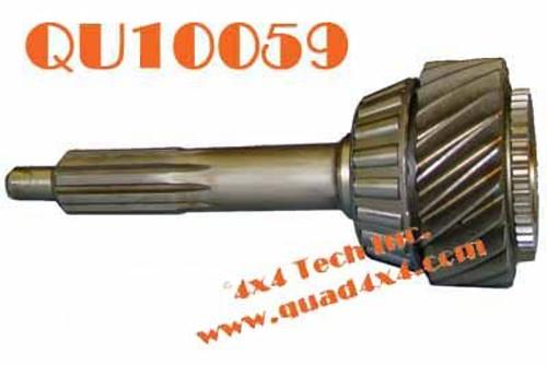 "QU10059 OE 1995-2007 GM NV4500 1 1/8""-10 Spline Input Shaft"