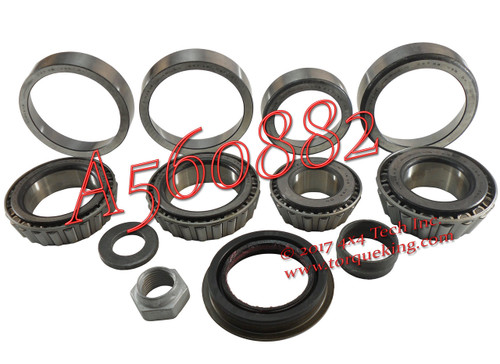 A560882 Front Differential Bearing & Seal Kit for 2003-up Ram AAM 925 Axles