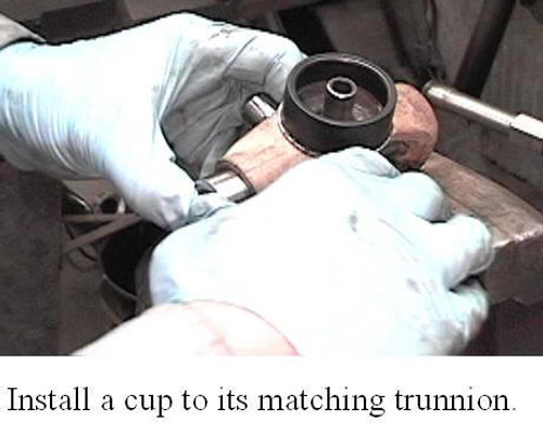 Excerpt from TM3000 Driveshaft and Universal Joint Service Manual