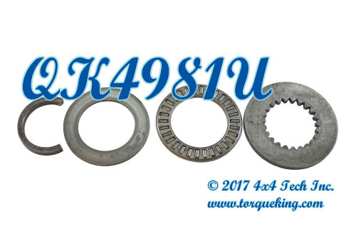 Used 4 Piece Thrust Bearing Kit for Dana 28IFS front axle shafts
