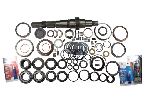QK1008 Master Overhaul Parts Kit for 1994-2004 Dodge NV4500HD 4x4 Transmissions includes all the parts normally required to restore your Heavy Duty Ram's worn out New Venture NV4500HD 4x4 5 speed manual transmission