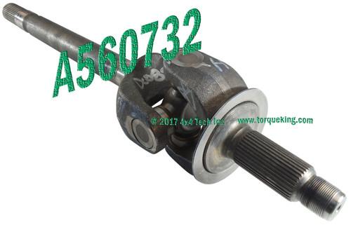 A560732 13-18 R AXLE SHAFT