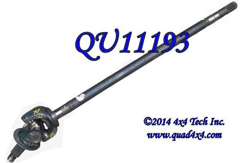 QA11193 2010-2013.5 Right Axle Shaft Assembly for AAM 925 Front Axles