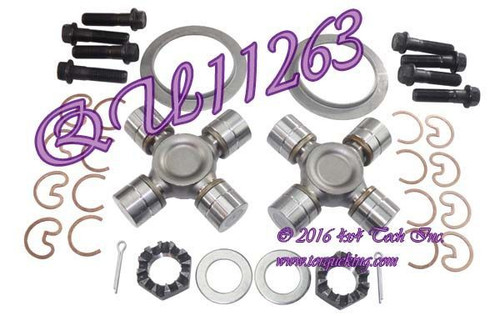 QU11263 AAM Front Axle U-Joint Kit for Ram AAM 925 Front Axles