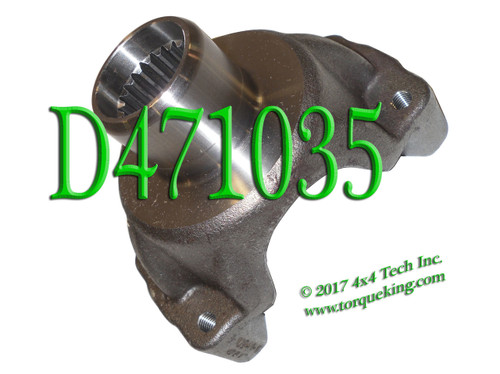 D471035 1410 23 SPL END YOKE
