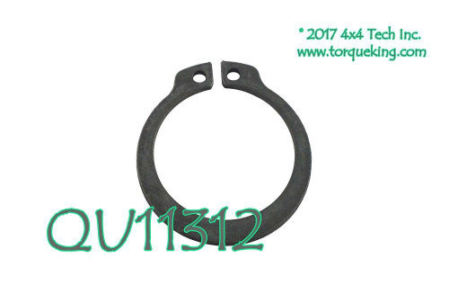 QU11312 Rear Output Bearing To 27 Spline Rear Output Shaft Snap Ring
