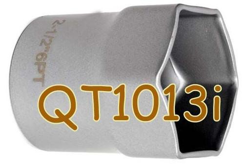 "QT1013i 2-1/2"" Hex Thin Wall Spindle Nut Socket"