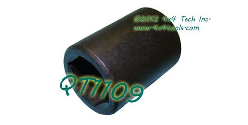 QT1109 18mm 6 Point Hex Impact Socket